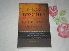 IN THE HAND OF DANTE by NICK TOSCHES        -ARC-  -JA-