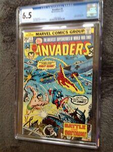 Invaders #1 CGC 6.5 Marvel Comics #1488325006