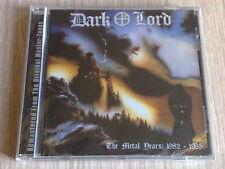 DARK LORD - THE METAL YEARS 1982-1985 - RARO CD SIGILLATO (SEALED)