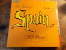 """THE SOUL OF SPAIN """" 101 STRINGS""""  VOLUME 2    LP"""