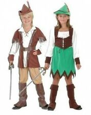 ROBIN HOOD BOY AND GIRL FANCY DRESS COSTUMES 4 STYLES