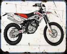 Beta Rr125 Motard 13 01 A4 Metal Sign Motorbike Vintage Aged