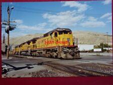 PHOTO  USA RAILWAY - UNION PACIFIC LOCO 9232 2 DASH 8-40C  AT SALT LAKE CITY