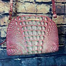 Brahmin Leah Julep Pink, Green, White Ombre Melbourne Crossbody *Retired**Rare*