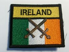 Irish Army patch with rank insignia.