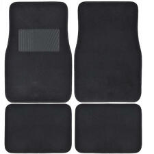 Superior Black Design Front and Rear Car Auto Carpet Premium Floor Mat