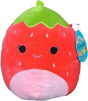 "Squishmallow 8"" Scarlet The Strawberry Plush , Super Pillow Soft Plush Stuffed"