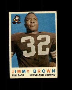 Jimmy Brown 1959 Topps Football #10 AG025