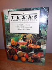 A TEXAS FAMILY'S COOKBOOK Joseph Lowery & Counts HB/DJ '88 Holidays SOUTHWESTERN