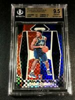 DONOVAN MITCHELL 2017 PANINI PRIZM RED WHITE BLUE REFRACTOR ROOKIE BGS 9.5 (C)