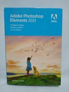 Adobe Photoshop Elements 2021 Software [PC/Mac Disc]