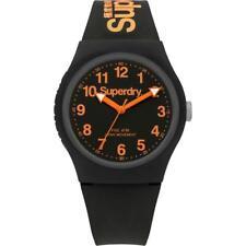 Superdry Urban Men's Watch SYG164B Analogue Silicon Black
