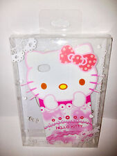 Hello Kitty iPhone 4 4S Pink Flowers Bow TPU Plastic Case Apple *Brand New*
