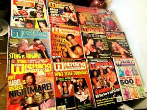 Pro Wrestling Illustrated Magazine lot of 15 Randy Savage Shawn Michael 1991-97