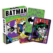 Batman Villains Playing Cards The Joker, The Penguin, The Riddler New