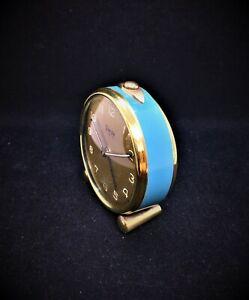 Beautiful Small Swiza Mignon Alarm Swiss Clock 1940 Working