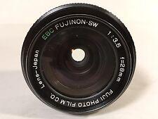 EBC Fujinon SW 28mm f3.5 Fuji Photo Film Co Fujica M42 SLR Camera Lens Rare EUC