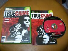 TRUE CRIME STREETS OF LA  - VF - XBOX - BOITE CD  LIVRET