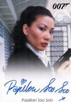 James Bond Heroes & Villains Papillon Soo Soo as Pan Ho Autograph Card