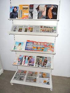Tegometall Zeitungsregal Kiosk Zeitung Zeitschriften Spätkauf Tego/Eden/Vendox