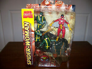 MARVEL SELECT SPIDER-WOMAN VARIANT ACTION FIGURE - RARE