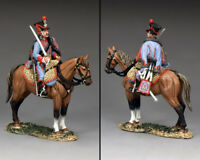 KING AND COUNTRY NAPOLEONIC Mounted Hussar NA357