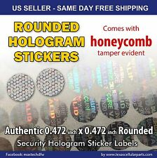 250 ROUND HOLOGRAM WARRANTY VOID SECURITY LABELS STICKERS SEALS