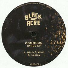"COMMODO Dyrge - 2 X 10"" Vinyl - Black Acre - Deep Dubstep"