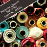 """Solid Plain Poly Cotton Bed Sheeting Fabric Crafts By The Metre- 100"""" Inch Wide"""