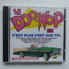 le doo wop CRYSTALS THE SHOWMEN THE CHIFFONS THE MARCELS THE COASTERS  CD ALBUM