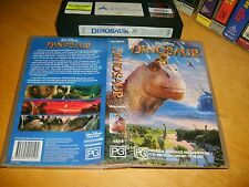 Vhs *DINOSAUR* Walt Disney - Animated Masterpiece (Note:- Rated PG) - Not a Dvd!