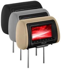 """BOSS HIR70BGTA 7"""" Pillow Headrest Monitor CAR DVD/USB/SD PLAYER BLACK GRAY TAN"""