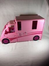 Barbie and Her Sisters in a Pony Tale Pink 2 In 1 Rv And Car