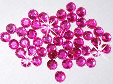 144 2.5mm iron-on HOT PINK Rhinestone diamante bead diy cardmaking embellish