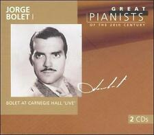 Jorge Bolet I: Great Pianists of the 20th Century, Vol. 10 by