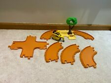 Paw Patrol Chase's Off-Road Rescue Replacement Add-On Brown Track Pieces Rubble