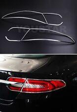FAST EMS Chrome Rear Tail light Surrounds Trim Jaguar XF 11-on Facelift Sedan