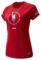 New Balance Women's 2019 NYC Marathon NB ICE 2.0 Short Sleeve Red