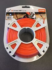 Stihl Strimmer/Trimmer Cutting Line 2.4mm x 43m top quality round nylon  line