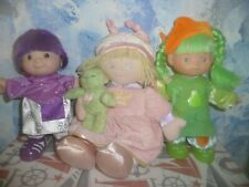 Lot of Fisher-Price and Gund Dolls 2000