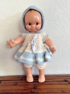 """Vintage 1920-30s Composition Kewpie 12.5"""" Googly Eyed Doll"""