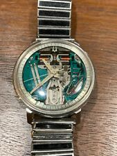 Extremely Clean M9 Bulova Accutron Spaceview Running with New Battery