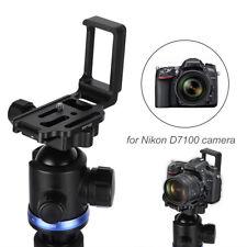 Quick Release Plate L Bracket Suit Camera Grip Holder for Nikon D7100