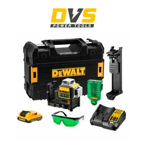 DeWalt DCE089D1G 10.8v 2.0Ah Li-Ion 3 Way Self Level Multi Line Laser Green Beam