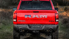 Ram Rebel American Flag Decal Overlay Tailgate Stickers