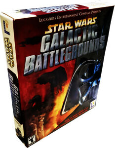 Star Wars: Galactic Battlegrounds (2001) for PC Large Retail Box NEW! MISB!!