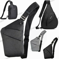 Women Men Shoulder Sling Bag Chest Crossbody bag Cycle Pack Satchel Bag Backpack