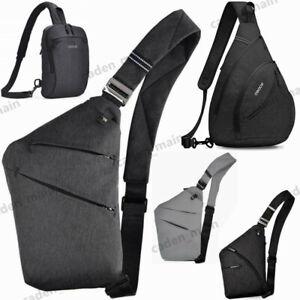 7 Colors Men Women Sling Shoulder Bag Chest Crossbody bag Cycle Pack Satchel Bag