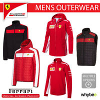 Ferrari F1 Formula One Team Mens Outerwear Jackets Sweatshirts Fleece Gilet Coat