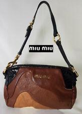 MIU MIU Mini Multicolour/leather handbag-very good condition